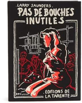 Olympia Le-Tan Pas De Bouches Inutiles book clutch