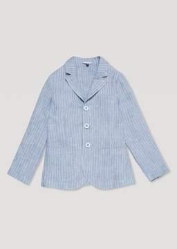 Armani Junior Chambray Linen Jacket