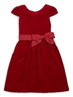 Ralph Lauren Toddler's, Little Girl's& Girl's Corduroy Fit-&-Flare Dress