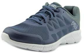 Fila Memory Finity Men US 8.5 Blue Running Shoe