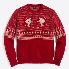 J.Crew Factory Red Skier