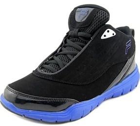 Fila Flexnet Youth Round Toe Synthetic Black Basketball Shoe.