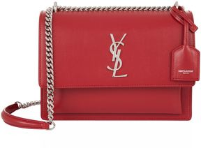 Saint Laurent Medium Sunset Bag - RED - STYLE