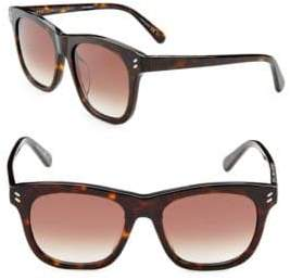 Stella McCartney Classic 52MM Square Sunglasses