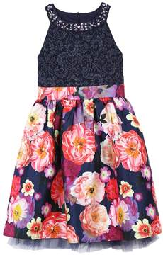 Speechless Girls 7-16 & Plus Size Glitter & Floral Dress