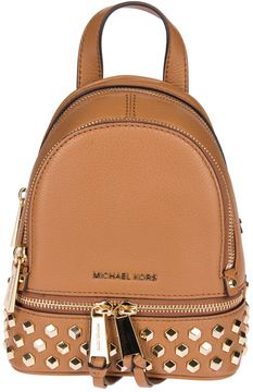 MICHAEL Michael Kors Rhea Backpack - BROWN - STYLE