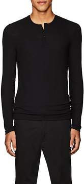 ATM Anthony Thomas Melillo Men's Stretch-Modal Henley