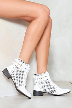Nasty Gal As Star as We Can See Lace-Up Boot