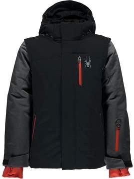 Spyder Axis Hooded Jacket - Boys'