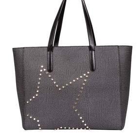 Borbonese Medium Shopping Bag With Star