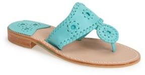 Jack Rogers Women's 'Nantucket' Leather Sandal