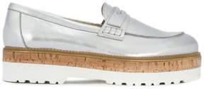 Hogan metallic loafers