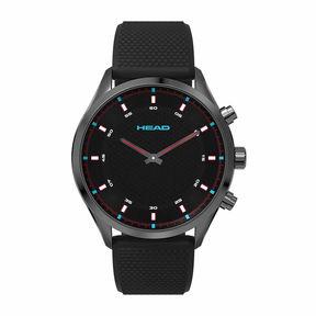 Head Advantage Mens Black Strap Watch-He-002-04