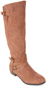 Madden-Girl Cognac Paris Riding Boots