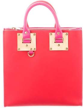 Sophie Hulme Saddle Leather Albion Tote