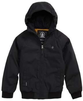 Volcom Boy's Hernan Heavyweight Hooded Jacket