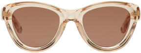 Givenchy Pink Cat-Eye Sunglasses