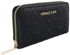 Versace EE3VRBPY2 Black Continental Wallet