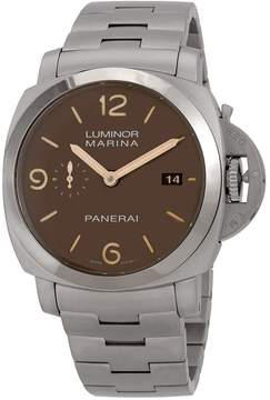 Panerai Luminor Marina 1950 Sand Dial Men's Titanium Watch