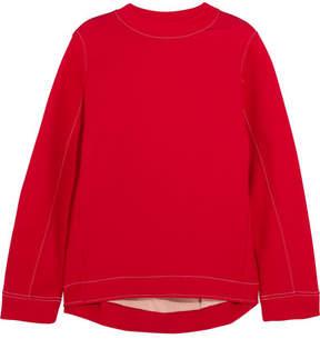 Marni - Oversized Cotton-blend Jersey Sweatshirt - Red