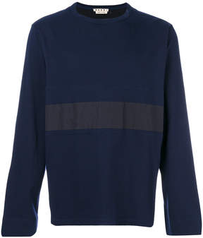 Marni stripe insert sweater