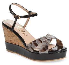 Callisto Women's Lottie Platform Wedge Sandal