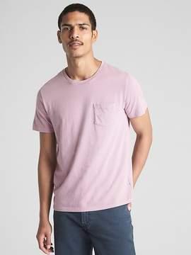 Gap Essential Short Sleeve Crewneck Pocket T-Shirt