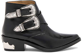 Toga Pulla Double Buckle Bootie