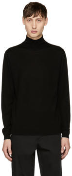Paul Smith Black Wool Turtleneck