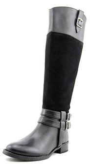 INC International Concepts Fahnee Round Toe Suede Knee High Boot.