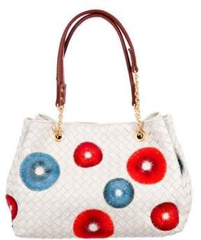 Bottega Veneta Embroidered Intrecciato Bag