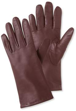 L.L. Bean L.L.Bean Leather/Cashmere Touchscreen Gloves