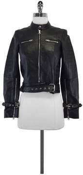 Bec & Bridge Black Leather Moto Jacket