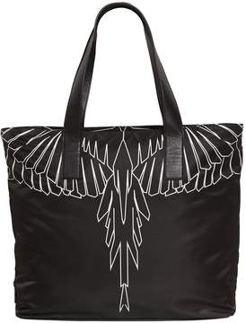 Marcelo Burlon County of Milan Asier Printed Nylon Tote Bag