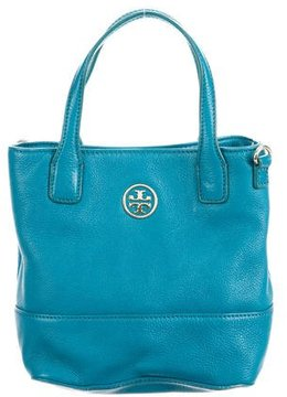 Tory Burch Grained Leather Bag - BLUE - STYLE