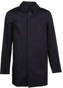 Herno Men's Im0172u131709220 Blue Cotton Coat.