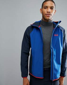Jack Wolfskin Zenon Softshell Jacket in Royal Blue
