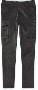 Brunello Cucinelli Cotton-Corduroy Cargo Trousers
