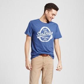 Awake Men's San Diego Tasty Waves T-Shirt - Navy