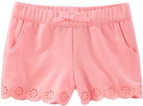 Osh Kosh Oshkosh Bgosh Toddler Girl Pull-On Eyelet Shorts