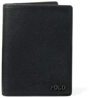 Ralph Lauren Embossed Leather Card Case Black One Size