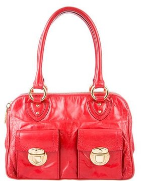 Marc Jacobs Leather Blake Bag - RED - STYLE