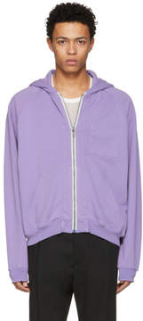 Haider Ackermann Purple Perth Hoodie