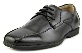 Florsheim Reveal Bike Ox Youth Square Toe Synthetic Black Oxford.