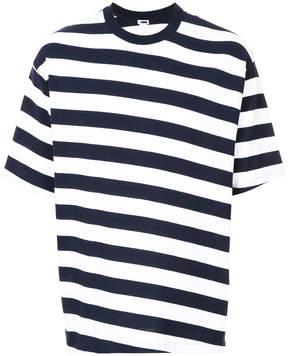H Beauty&Youth oversized striped T-shirt