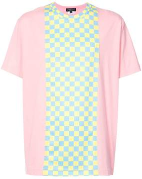 Comme des Garcons checker print T-shirt