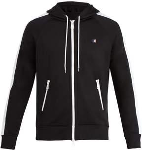 Ami Zip-through hooded sweatshirt
