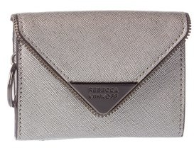 Rebecca Minkoff Molly Leather Metro Card Case. - GRAY - STYLE
