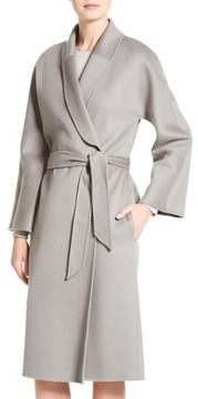 Armani Collezioni Women's Double Face Cashmere Wrap Coat