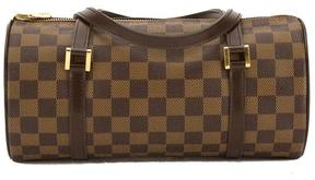 Louis Vuitton Damier Ebene Canvas Papillon 26 Bag - BROWN - STYLE